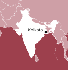 Location of Word Made Flesh Kolkata