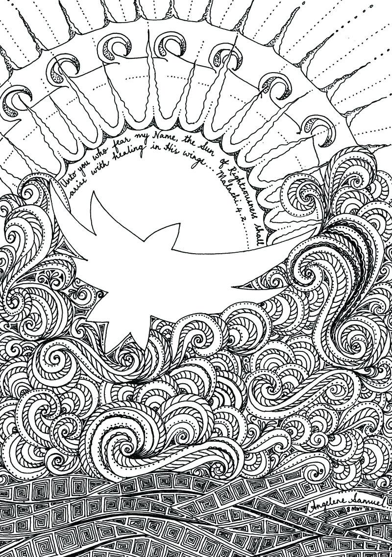Contemplative Doodle by Angelene Samuel