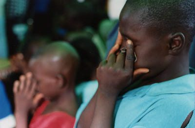 Sierra Leone Boy - Photo by John Cairnes