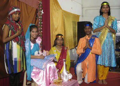 Chennai Christmas pageant