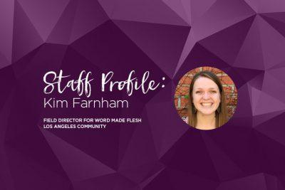 staff profile with kim farnham