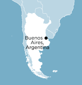 Location of Word Made Flesh Argentina