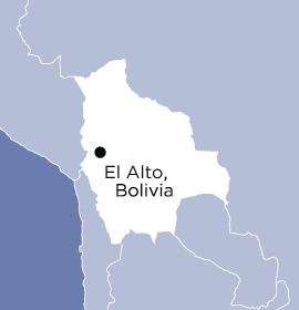 Location of Word Made Flesh Bolivia