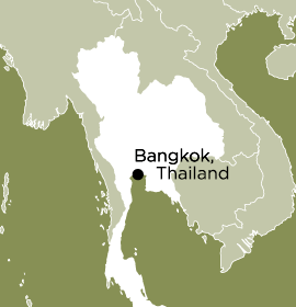 Location of Word Made Flesh Thailand