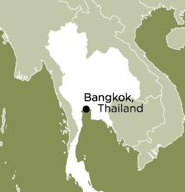 Location of Word Made Flesh Thailand