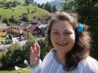 Anca-Aurora Chiosea, Communications and  FundraisingCoordinator, WMF Romania