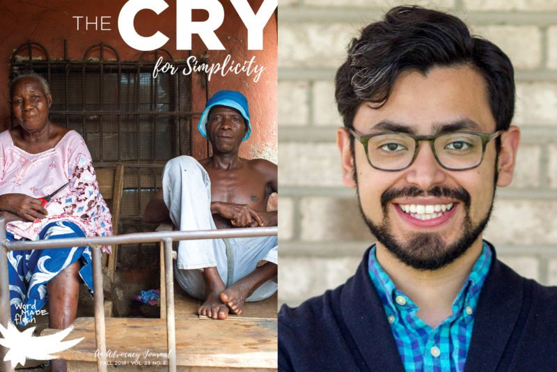 From the Editor — Simplicity By Jorge Castorena, Editor of The Cry