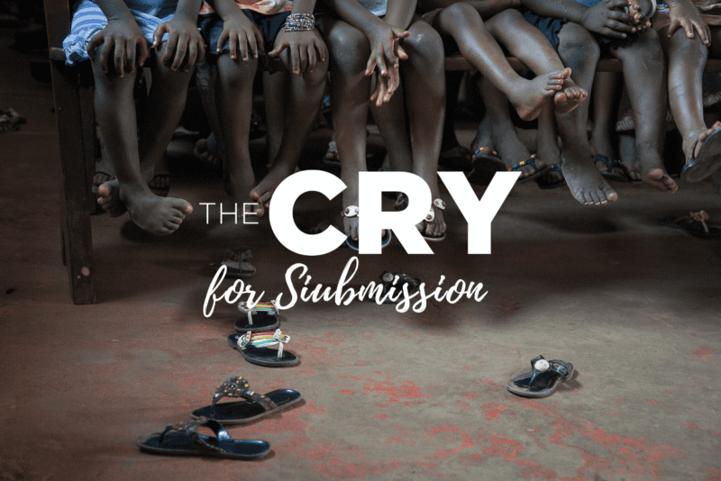 From the Editor — Submission By Jorge Castorena, Editor of The Cry