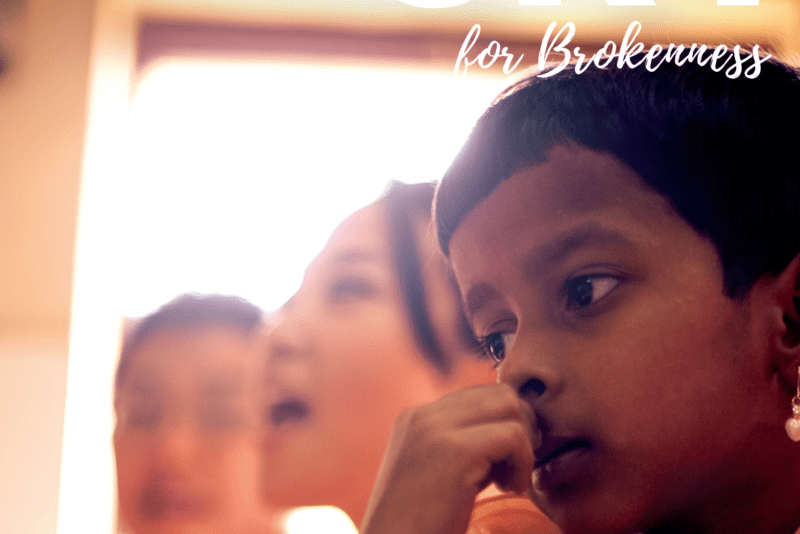 From the Editor — Brokenness By Jorge Castorena, Editor of The Cry